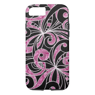 iPhone 7 Case Tough Drawing Floral