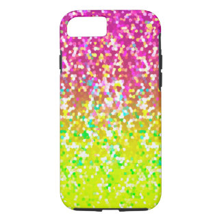 iPhone 7 Case Tough Glitter Graphic