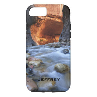 iPhone 7 Case, Tough, Personalized, Zion Narrows iPhone 7 Case