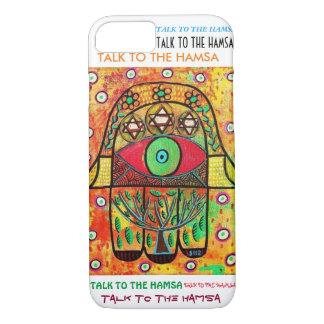 iPhone 7 case Tree Of Life Hamsa cell