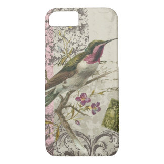 iPhone 7 case-Vintage Hummingbird iPhone 7 Case