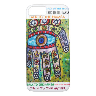 iPhone 7 case Water Flowers Hamsa cell
