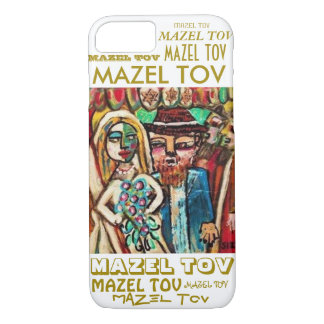 iPhone 7 case Wedding Chuppah Mazel Tov cell