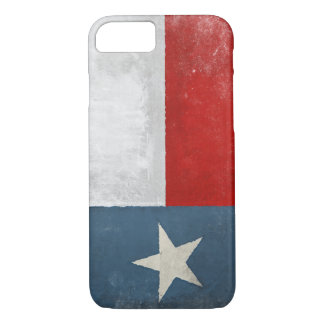 iPhone 7 case with Distressed Vintage Texas Flag