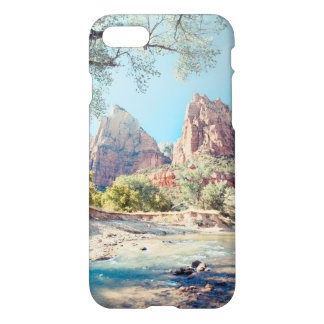 iPhone 7 Case with Mountain Scene