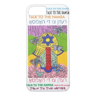 iPhone 7 case Yiddish Star of David Hamsa cell