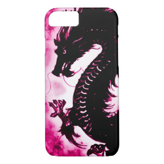 iPhone 7 Chinese Wish Dragon Fantasy Art Nouveau iPhone 7 Case