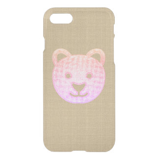 iPhone 7 Clearly™ Deflector Case - Bear (b2)