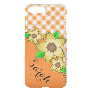 iPhone 7 Clearly Plus Deflector Case Yellow Flower