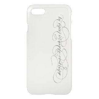 iPhone 7 Clearly™, tu enim in amore doctrina iPhone 7 Case