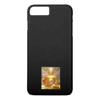 iPhone 7 - GOLDEN BUDDHA ON BLACK iPhone 7 Plus Case