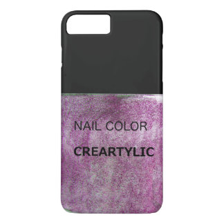 iPhone 7 nail color purple iPhone 7 Plus Case