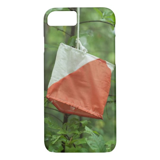iPhone 7 orienteering case - Flag