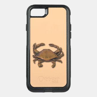 iPhone 7 OtterBox Nautical Copper Crab on Cream