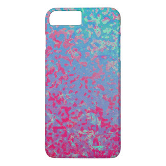 iPhone 7 Plus Case Colorful Corroded Background