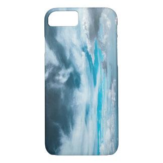 Iphone 7 plus Case  Dragon sky clouds blue