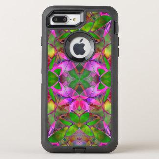 iPhone 7 Plus Case Floral Fractal Art