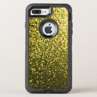 iPhone 7 Plus Case Gold Mosaic Sparkley Texture