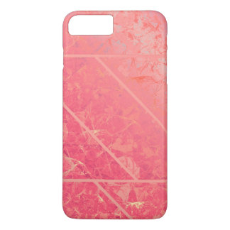 iPhone 7 Plus Case Pink Marble Texture