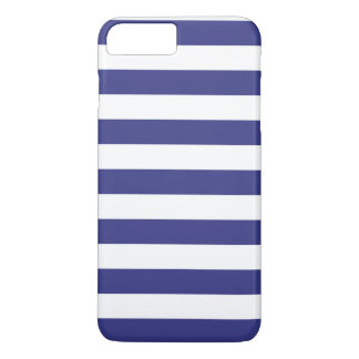iPhone 7 Plus Case - Royal Blue Bold Stripes