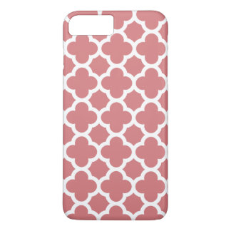iPhone 7 Plus Case - Strawberry Ice Quatrefoil