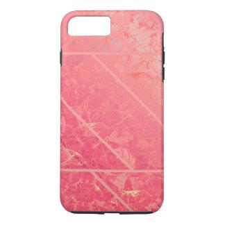 iPhone 7 Plus Case Tough Pink Marble Texture