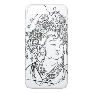 iPhone 7 Plus Case with Traditional Chinese Art