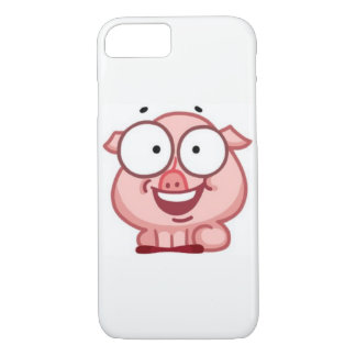 iPhone 7 Plus Cases Funny Pig