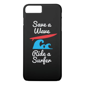 iPhone 7 Plus Cover Case - Rider a Surfer