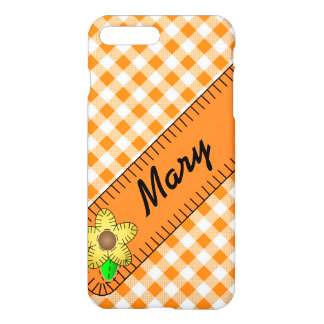 iPhone 7 Plus Gloss Case With Black Eyed Susan