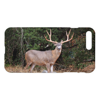 iPhone 7 Plus Gloss Case With Wild Buck Deer