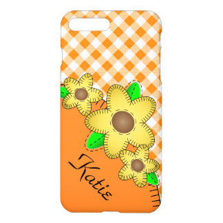 iPhone 7 Plus Matte Case Black Eyed Susan