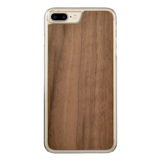 Apple iPhone 8 Plus/7 Plus Slim Walnut Wood Case