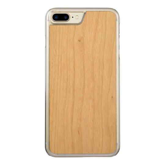 Apple iPhone 8 Plus/7 Plus Slim Cherry Wood Case