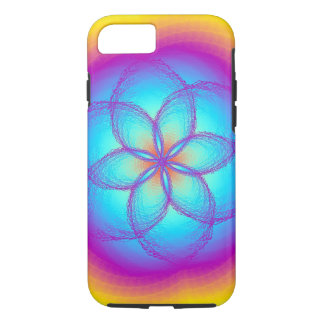 iPhone 7 Stained Glass Rainbow Case