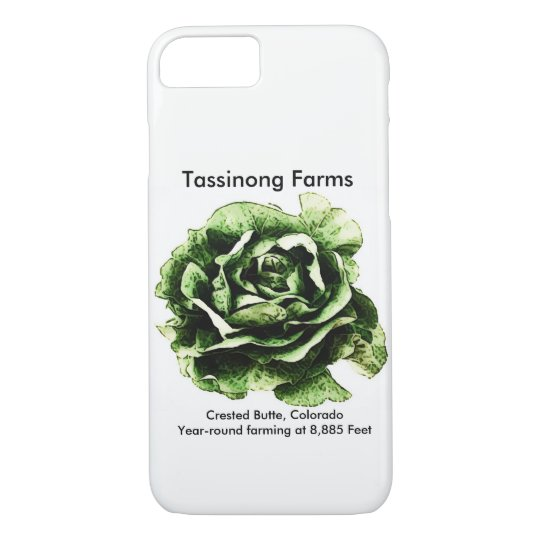 iPhone 7 - Tassinong Farms phone case