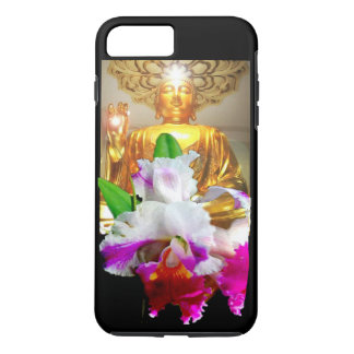 iPhone 7 TOUGH CASE - GOLDEN BUDDHA WITH ORCHID