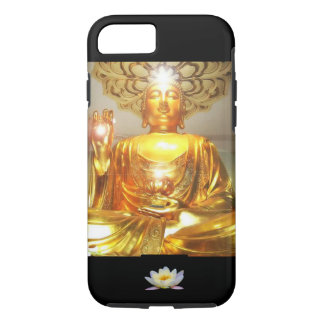 iPhone 7CASE - GOLDEN BUDDHA LOTUS MESSAGE iPhone 7 Case