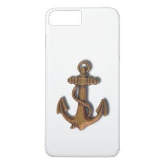 iPhone 8 Plus Copper Anchor on White iPhone 8 Plus/7 Plus Case