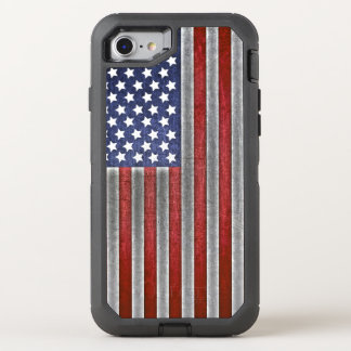 iPhone American Flag cell phone OtterBox Defender iPhone 7 Case