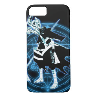iPhone Anime Blue Magic Knight Custom Case