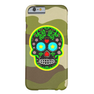 iPhone  camouflage mexican skull Barely There iPhone 6 Case