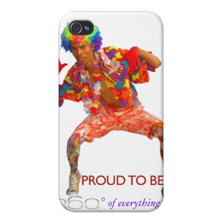 iPhone Case 360° Clown sean360x iPhone 4/4S Case
