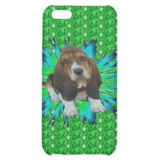 Iphone Case 4/4 Baby Basset Hound Sheldon iPhone 5C Case
