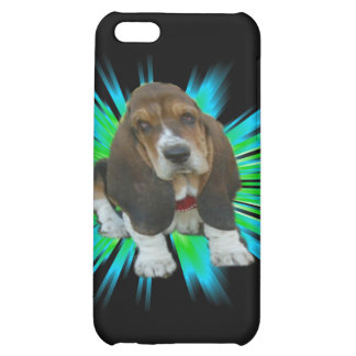 Iphone Case 4/4 Baby Basset Hound Sheldon Cover For iPhone 5C