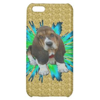 Iphone Case 4/4 Baby Basset Hound Sheldon iPhone 5C Cases