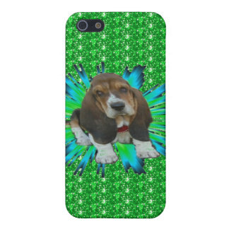 Iphone Case 4/4 Baby Basset Hound Sheldon Case For The iPhone 5