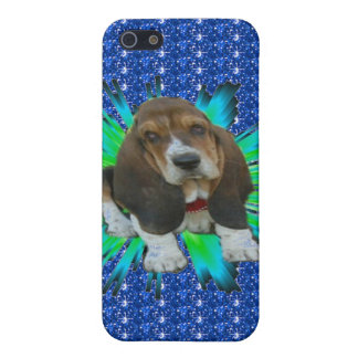 Iphone Case 4/4 Baby Basset Hound Sheldon iPhone 5 Covers