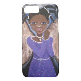 Iphone Case Art African American Black Art Angel