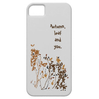 iPhone  case (Autumn,leaf and you)